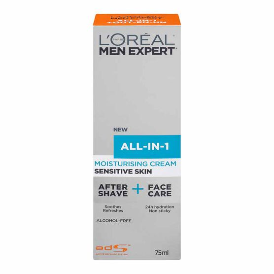 L'Oreal Men Expert All-In-1 Moisturising Cream - Sensitive - 75ml