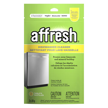 Affresh Dishwasher Cleaner - 3 x 20g