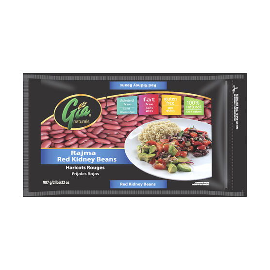 Gia Naturals - Rajma Red Kidney Beans - 907g
