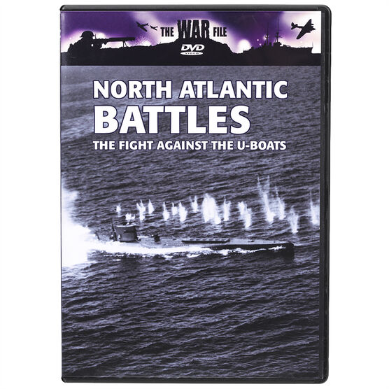The War File - North Atlantic Battles: The Fight Against the U-Boats - DVD