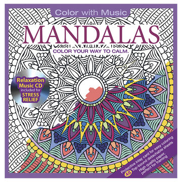Color with Music - Mandalas