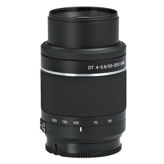 Sony 55-200mm f/4-5.6 SAM Telephoto Zoom Lens - SAL552002