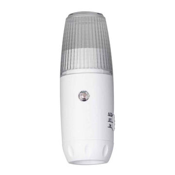 Globe 3-in-1 Torch Security LED Night Light - White