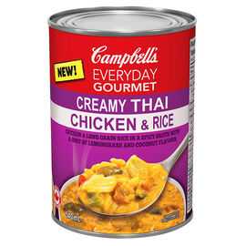 Campbell's Everyday Gourmet Soup - Creamy Thai Chicken & Rice - 540ml