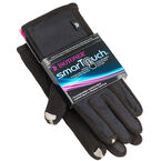 Isotoner SmarTouch Gloves - Black