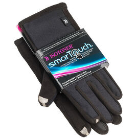 Isotoner SmarTouch Gloves - Black