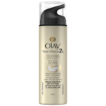 Olay Total Effects Feather Weight Moisturizer SPF 15 Lotion - 50ml