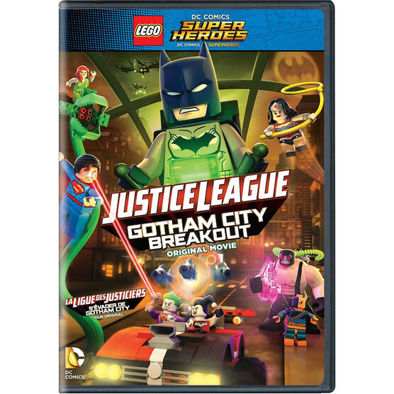 Lego DC Super Heroes: Justice League: Gotham City Breakout - DVD