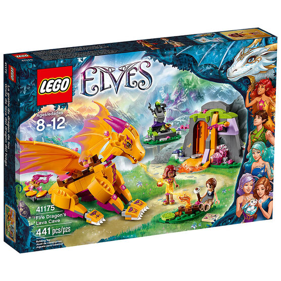 Lego Elves - Fire Dragon's Lava Cave