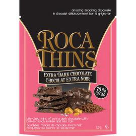 Brown & Haley Almond Roca Thins - Dark - 150g