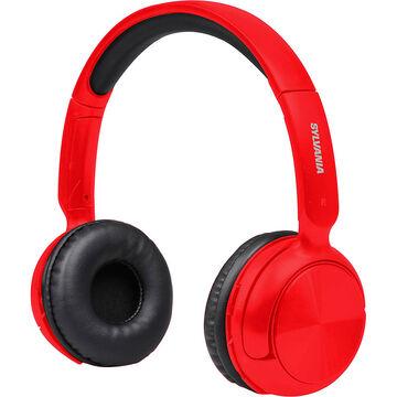 sylvania bluetooth headphones red sbt235r london drugs. Black Bedroom Furniture Sets. Home Design Ideas