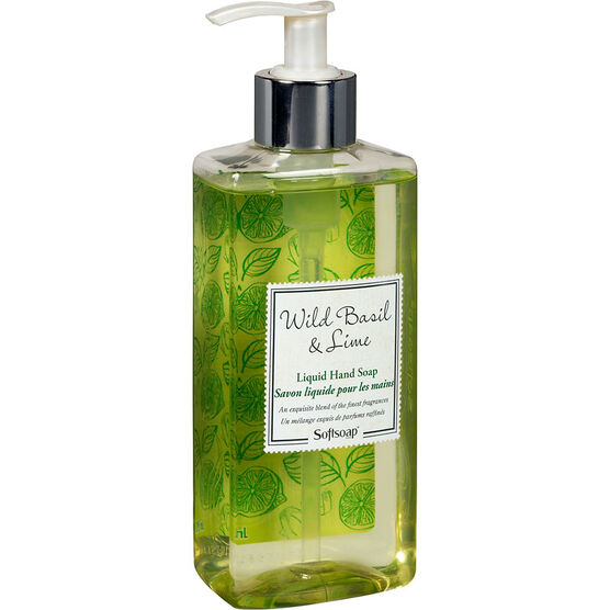 Softsoap Liquid Hand Soap - Wild Basil & Lime - 295ml