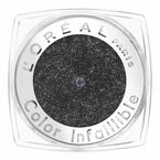 L'Oreal La Couleur Infallible Eyeshadow - Eternal Black