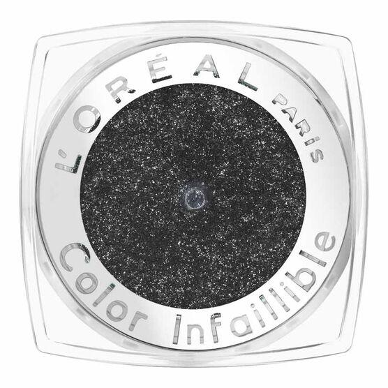L'Oreal La Couleur Infallible Eyeshadow - Eternal Black
