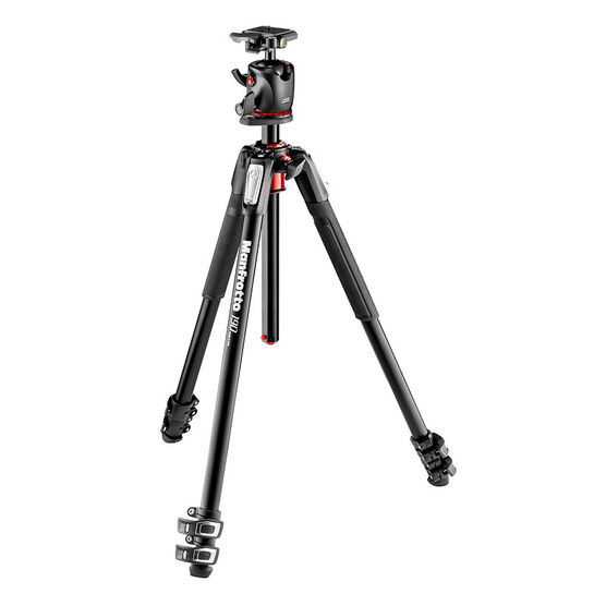 Manfrotto 190 Aluminum 3 Section Tripod with XPRO Ball Head + 200PL plate - MK190P3BH2