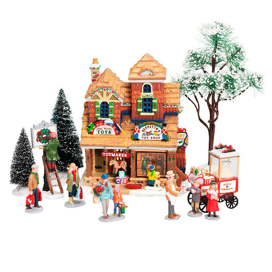 Lemax Geppetto's Toy Shop Kit - 12 piece