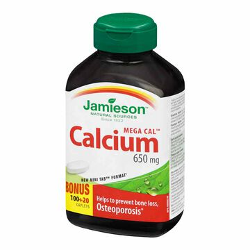 Jamieson Mega Cal Calcium 650 mg  - 100's