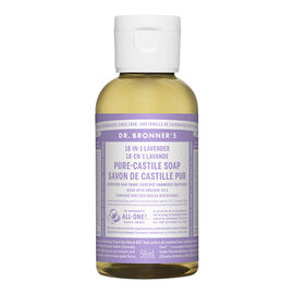 Dr Bronner's Liquid Soap - Lavender - 59 ml