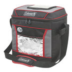 Coleman 30 Can Soft Cooler - Red/Grey - 2000025131