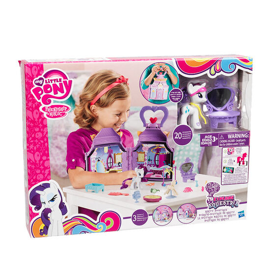 My Little Pony Friendship is Magic Rarity Booktique