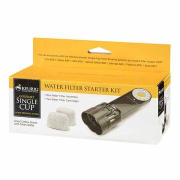 Keurig Water Filter Starter Kit with 2 Filters