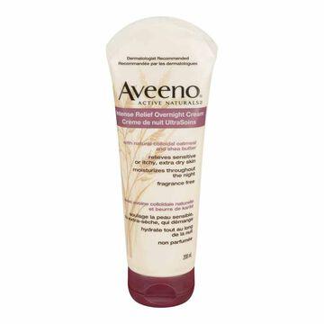 Aveeno Active Naturals Intense Relief Overnight Cream - 208ml