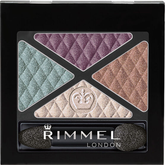 Rimmel Glam'Eyes Quad Eyeshadow - Crown Jewels