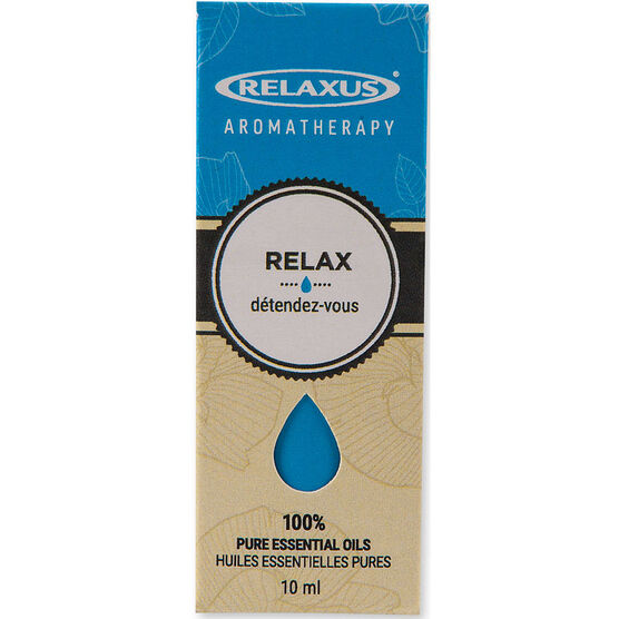 Relaxus Aromatherapy 100% Pure Essential Oils - Relax Blend - 10ml