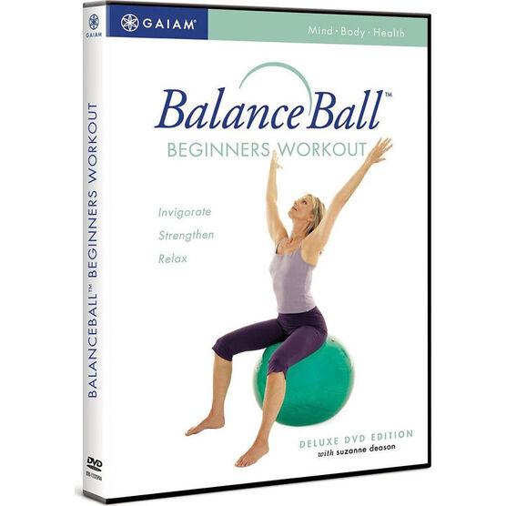Balance Ball: Beginners Workout Dvd With Suzanne Deason - DVD