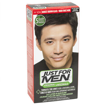 Just for Men Shampoo-in Hair Colouring - Dark Brown Black