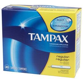 Tampax Tampons - Regular - 40's