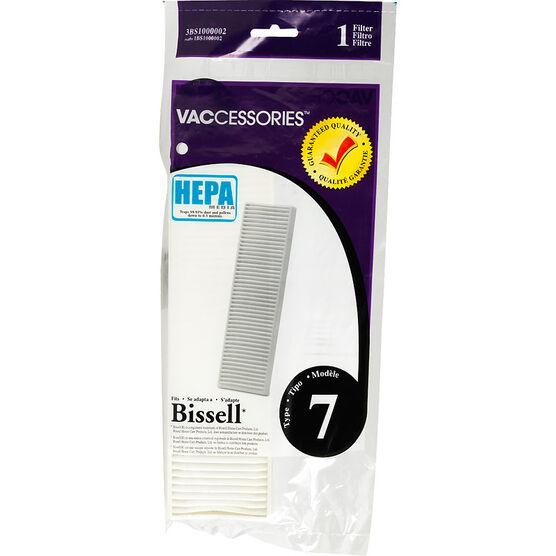 Bissell Type 7 HEPA Filter - Single