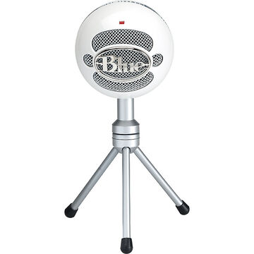 Bluemic Snowball USB Mic Ice - White/Silver
