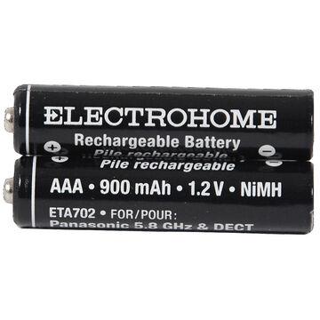 ElectroHome Cordless NiMh AAA Rechargeable Phone Battery - ETA702