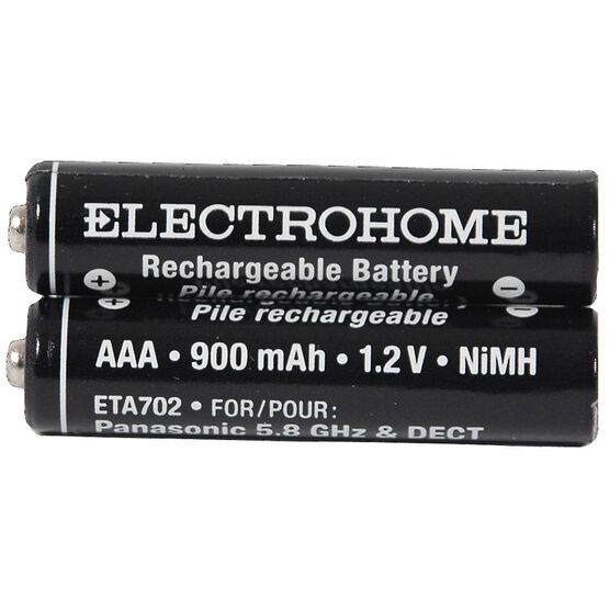 ElectroHome Cordless NiMh AAA Rechargeable Phone Battery - ETA702