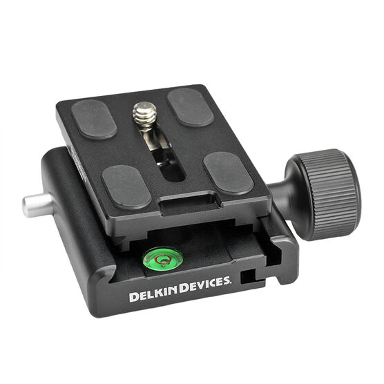 Delkin Devices Fat Gecko Quick Release Kit - DDMOUNT-AC-QKRLS