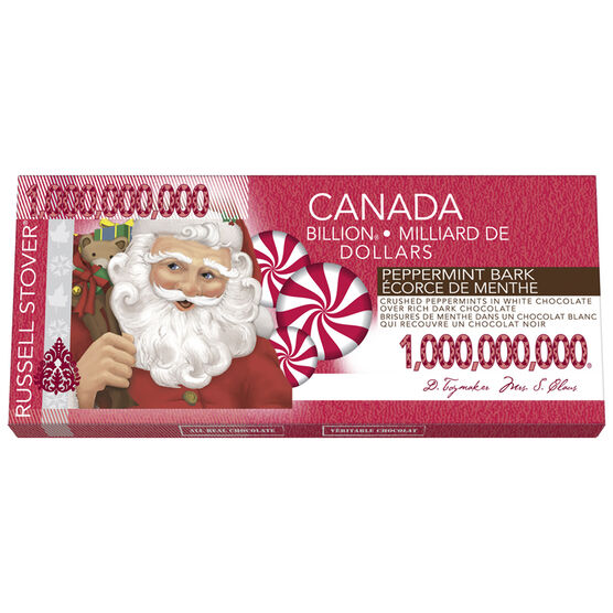 Russell Stover Santa Money - Peppermint Chocolate - 57g