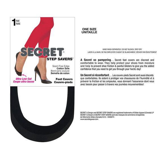 Secret Step Saver Seam Free Edge - Black