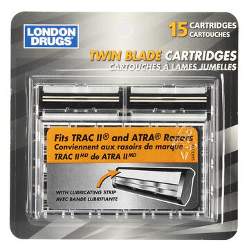 London Drugs Twin Blade Cartridges - 15's