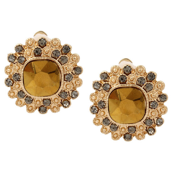 Haskell Stud Earrings - Gold
