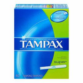 Tampax Tampons - Super - 40's