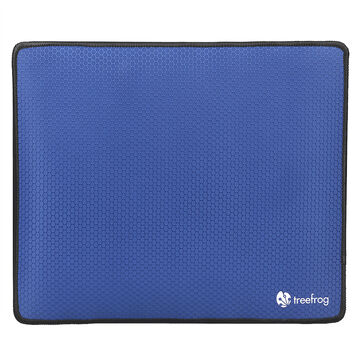 Tree Frog Game Mouse Pad - Blue - 12.60 x 10.63 x 0.12inch - KLH109SB/BLUE