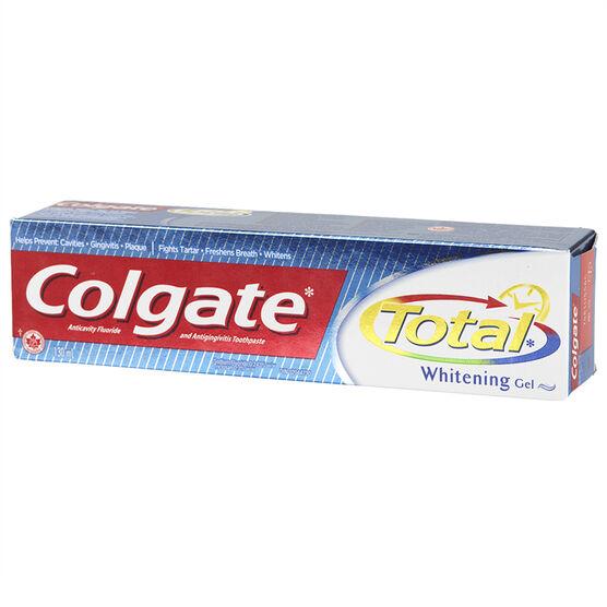 Colgate Total Whitening Gel Toothpaste - 130ml
