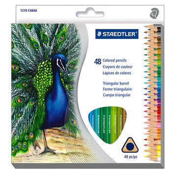 Staedtler Coloured Pencils - 48 pack