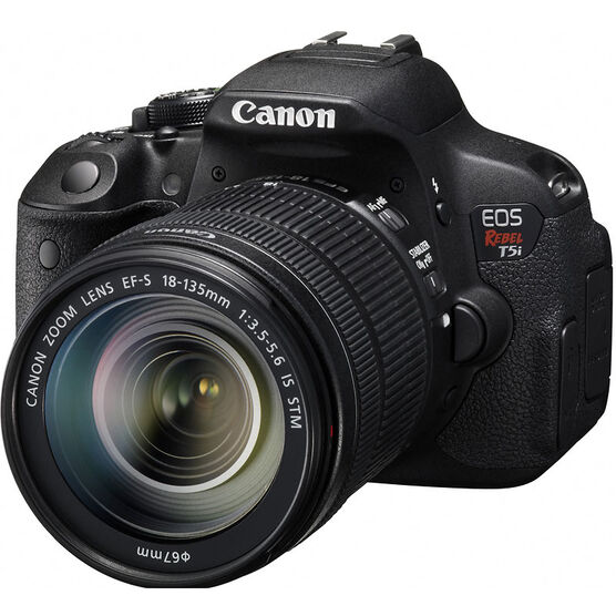 Canon EOS Rebel T5i with 18-135mm IS Lens