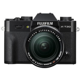 PRE-ORDER: Fujifilm X-T20 with 18-55mm XF Lens - Black - 600018097