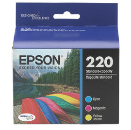 Epson T220520 Colour Combo Pack Ink Cartridge - T220520-S