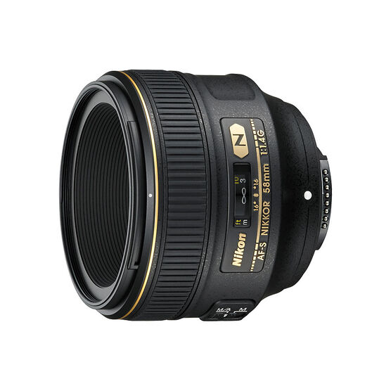 Nikon AF-S 58mm F1.4G Lens - 2210