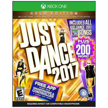 PRE-ORDER: Xbox One Just Dance 2017 Gold Edition