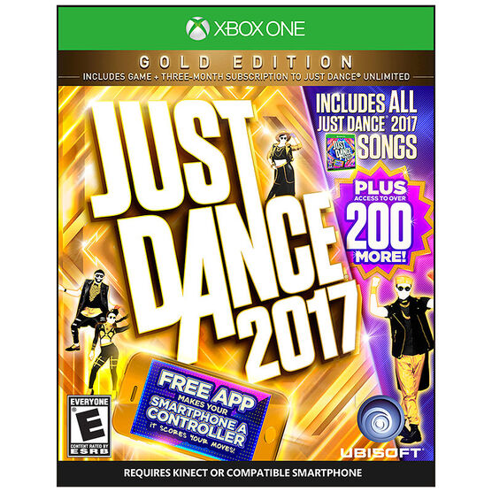 Xbox One Just Dance 2017 Gold Edition